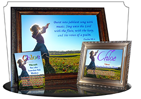 MU-PP27, Music Box with personalized name meaning & Bible verse, , personalized, child worship praise chloe dance music