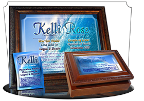 MU-WA03, Music Box with personalized name meaning & Bible verse, , personalized, ocean wave tidal kelli