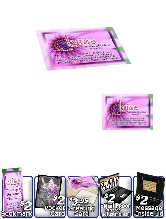 MU-FL34, Music Box with personalized name meaning & Bible verse, , personalized, floral flower,  luisa purple pink flower