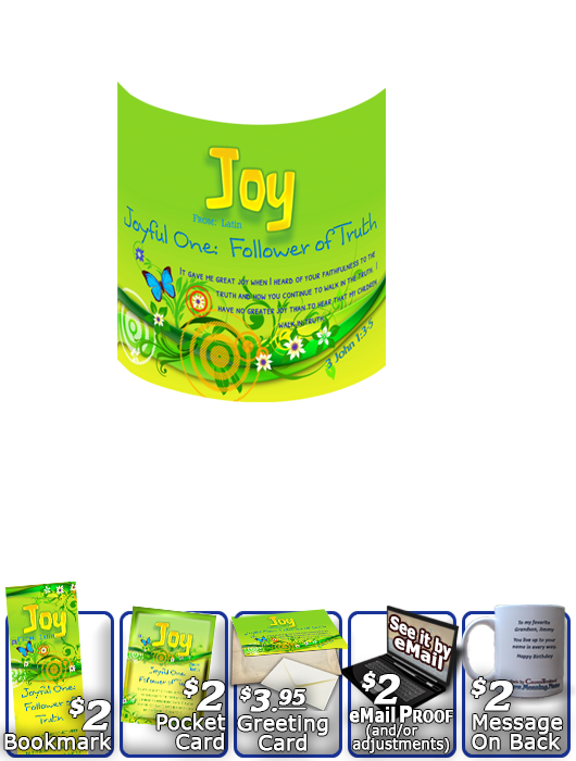 MU-BF16, Coffee Mug with Name Meaning and  Bible Verse butterfly  joy happy butterfly green