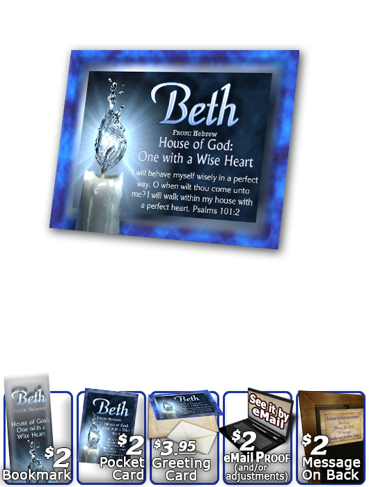 PL-SY24, Name Meaning Print,  Framed, Bible Verse, personalized, beth candle light water