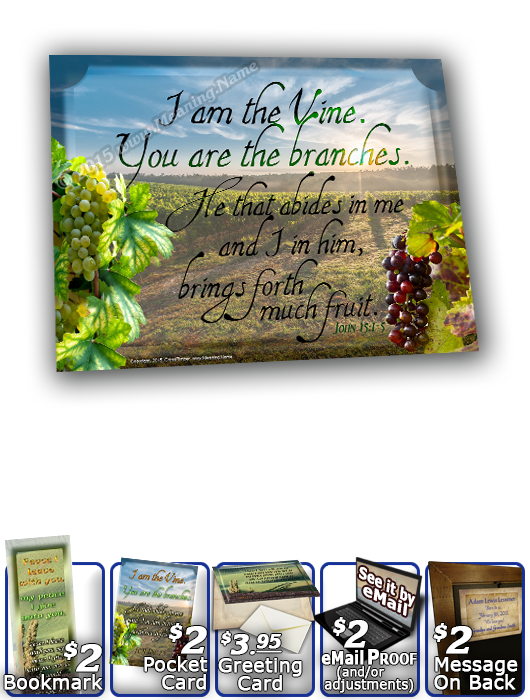 SG-8x10-SC14, Large 10x12 Plaque with Custom Bible Verse, personalized,  rolling hills peace Italy, John 14:27