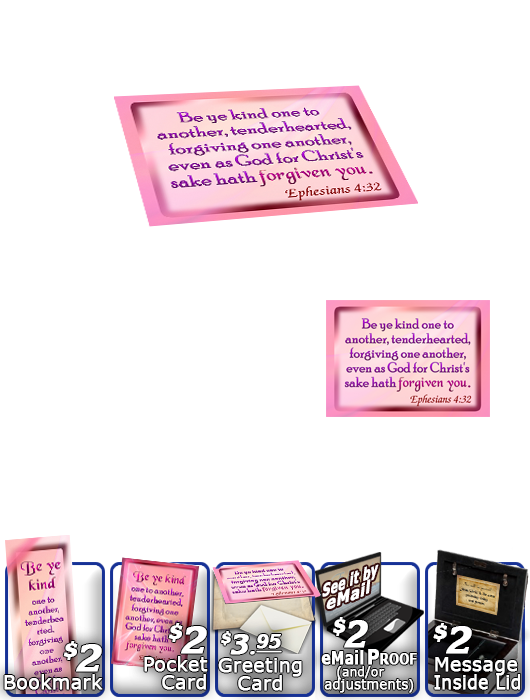 SG-MB-SM07, Custom Bible Verse on a Music Box, Bible Verse, personalized, baby name purple pink  simple basic, Ephesians 4:32
