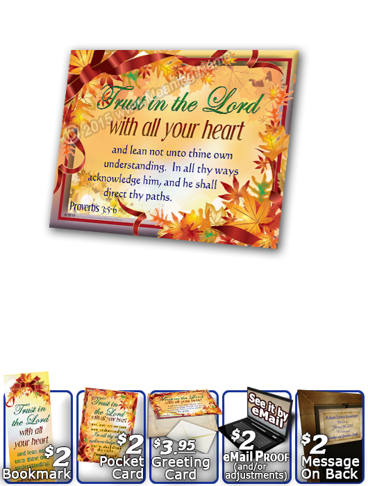SG-PL-LE10, Custom Scripture Plaque,  Framed, Bible Verse, personalized, tree leaves leaf autumn fall, Proverbs 3:5-6