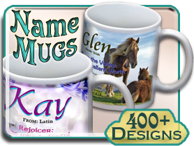 Name Meaning Coffee Mugs